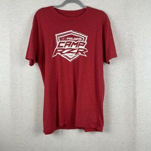 Polaris Camp Rzr Red Staff Event T-shirt